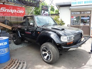 TOYOTA ランクル80